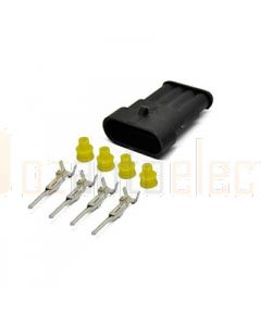 AMP Superseal 4 Circuit Receptacle Kit