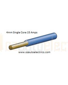 Narva 5814-100BE Blue Single Core Cable 4mm (100m Roll)