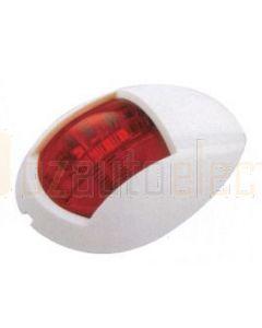 LED Autolamps 52WR Marine Portside Navigation Lamp - White Base (Single Blister)