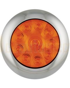 LED Autolamps 5543AM Single Rear Indicator Round Lamp (Blister)