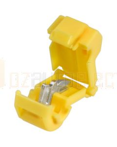 Yellow Ezy-Tap wire connectors - 50 Pack