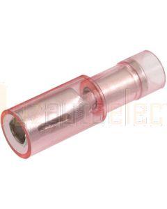 Narva 56051BL Female Bullet Crimp Terminal, Transparent Polycarbonate 2.5-3mm (Blister Pack)