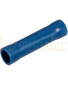 Narva 56156 Blue Cable Joiner Flared Vinyl, Fully Insulated 4MM (Box of 100)