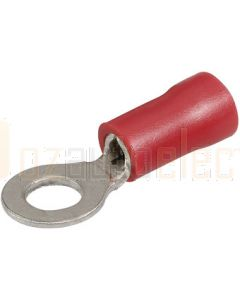 Ring Terminal Flared Vinyl, Insulated (Eye Terminal) 2.5-3mm (Blister Pack)