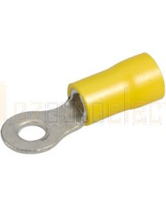 Narva 56084BL Ring Terminal Flared Vinyl, Insulated (Eye Terminal) 4.3mm (Blister Pack)
