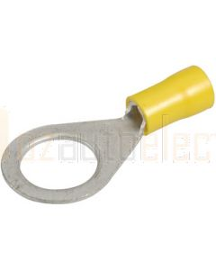 Narva 56093BL Ring Terminal Flared Vinyl, Insulated (Eye Terminal) 13mm dia (Blister Pack)