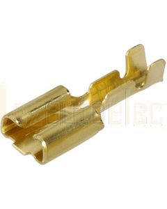 Narva 56223 Blade Female Terminal Non-insulated Brass with Locking Tab 4.8 x 0.8mm dia (Pack of 100)