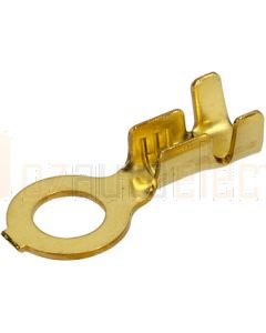 Narva 56232 Ring Terminal Non-insulated Brass (Open End) 4.3mm dia (Pack of 100)