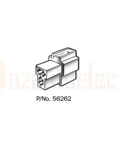 Narva 56262 2 Way Quick Connector Housing with Terminals - Female (Pack of 10)