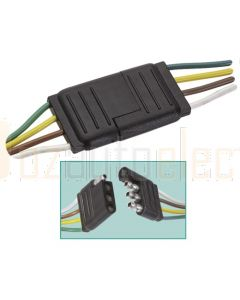 Narva 56294BL 4-Way Weatherproof Harness Connector (Blister Pack)