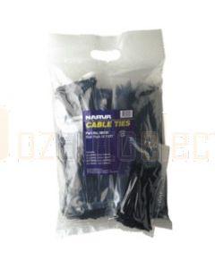 Narva 56430 Black Cable Tie Bulk Pack