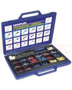 Narva 56530 Professional Terminal and Connector Assortment