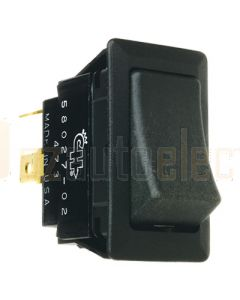 Cole Hersee Rocker Switch On/Off 12/24V 25amp SPST 2 Blade Terminals