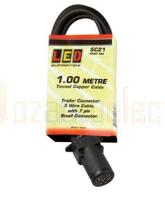 LED Autolamps Lamp to Gooseneck Cable (1000mm)