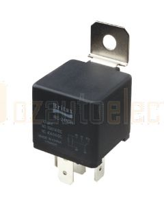 Britax Mini Relay 24V 40amp N/O 5 Pin Resistor Type Removeable Bracket