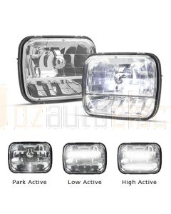 "LED Autolamps HL165 5"" x 7"" LED Headlamp"