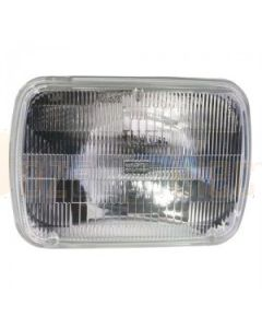 200mm x 142mm High/Low Sealed Beam Headlamp - 24V