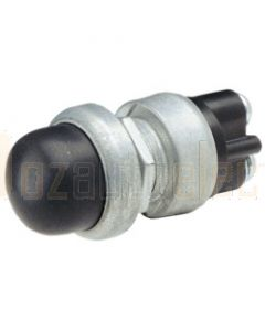 Narva 60033BL Momentary (On) Heavy-Duty Push Button Switch with Waterproof Neoprene Boot