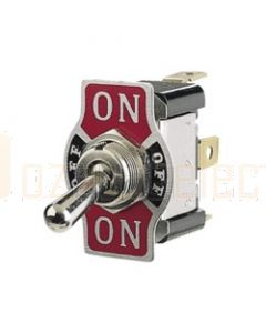 Narva 60061 On/Off/On Metal Toggle Switch with On/Off/On Tab