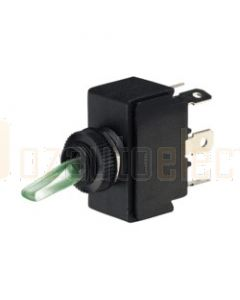 Narva 60073BL Illuminated On/Off/On Toggle Switch (Red/Natural/Green)