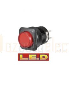 Narva 60086BL Off/On Push/Push Switch with Red L.E.D