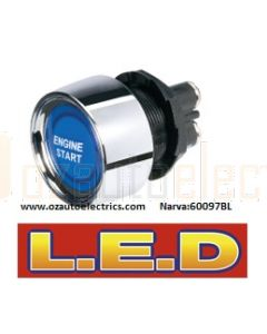 Narva 60097BL 12 Volt Starter Switch with Blue L.E.D