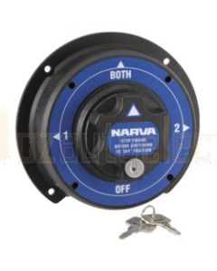 Narva 61094 Battery Master Switch, Rotary Style with 4 Positions