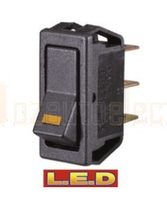Narva 62000BL On/Off Rocker Switch with Amber LED