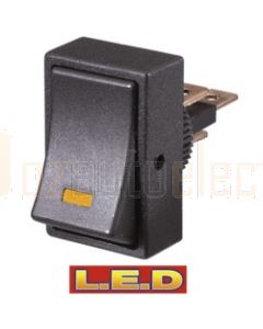 Narva 62005BL Off/On Rocker Switch with Amber L.E.D