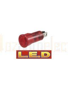 Narva 62029BL 12 Volt Pilot Lamp with Red L.E.D