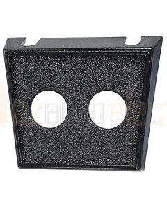 Dual Hole Plastic Switch Panel