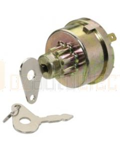 Narva 64028 4 Position Ignition Switch suits Massey Ferguson Equipment