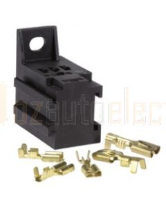 Narva 68086BL Relay Connector for 6.3mm x 0.8mm and 4.8mm x 0.8mm Flat Pin Connectors