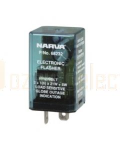 Narva 68232BL 12 Volt 2 Pin Electronic Flasher - Blister Pack