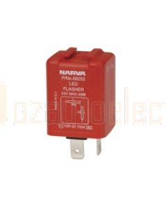 Narva 68252BL 24 Volt 2 Pin L.E.D Electronic Flasher