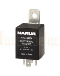Narva 68254BL 12 Volt 4 Pin Electronic Flasher  Blister Pack