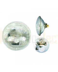178mm Sealed Beam Headlight 12V with park light