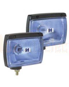 Ultima 160/115 Blue Combination Driving Lamp Kit 12 Volt 100W Rectangular 160 x 115mm Broad Beam, Pencil Beam Blister Pack