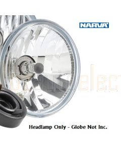 H1 7'' (178mm) free form Headlamp replacement - Lamp Only (globe not included)