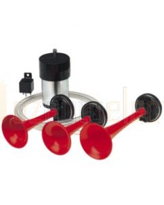 Narva 72536 12 Volt Triple Air Horn Kit