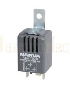 Narva 72560BL 'Headlights On' Warning Buzzer 12 Volt 85 Decibels
