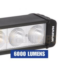 Narva 9-32 72757 Volt High Powered L.E.D Work Lamp Wide Flood Beam 6000 Lumens