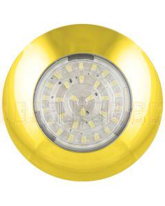 LED Autolamps 7524G Courtesy Lamp Clear Lens- 12V Gold (Blister Single)