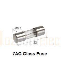 Glass Fuse 7AG - 500mA (Box of 5)