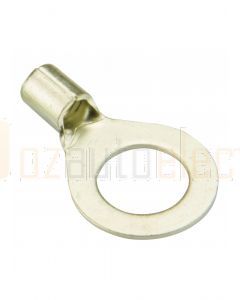 Quikcrimp Crimp Starter Lugs 10.5 - 16.7mm2, 5mm Stud