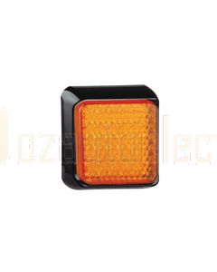 LED Autolamps 100AM Single Indicator Lamp - Black Bracket (Blister)