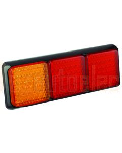 LED Autolamps 80BARR Stop/Tail/Indicator Triple Combination Lamp (Blister)