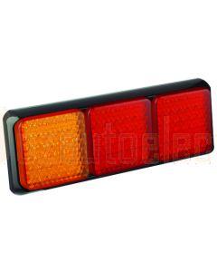 LED Autolamps 80BARRM Stop/Tail/Indicator Triple Combination Lamp - Multivolt (Blister)