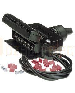 Narva 82045BL 7 Pin Flat Trailer Socket Kit
