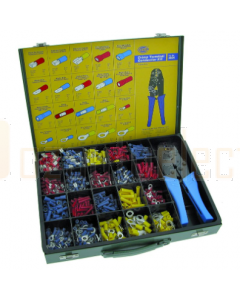 Hella 8284 Professional Terminals Kit with 1000 Terminals